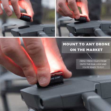 Lume Cube Strobe - Anti-Collision Lighting for Drones