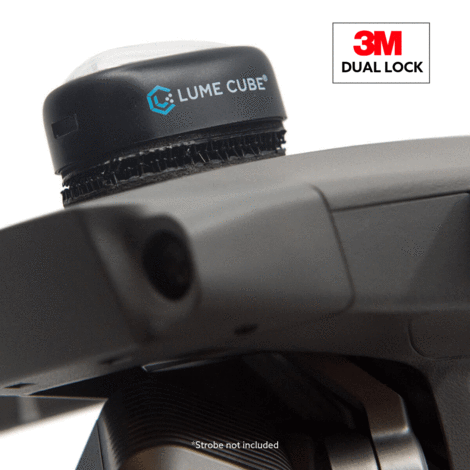 Lume Cube Dual Lock Three Pack for the Strobe