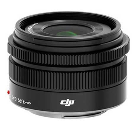 Pre-Owned DJI 15mm f/1.7 MFT ASPH Prime Lens for Zenmuse X5 and X5R Cameras