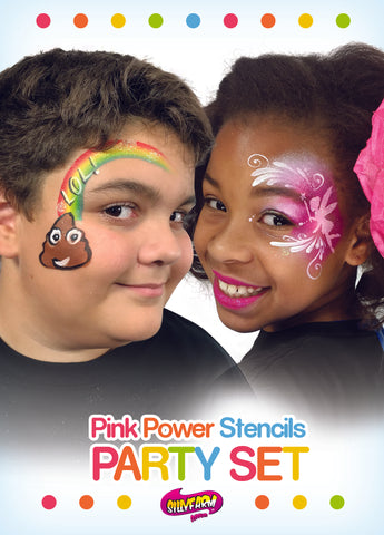 Party Pink Power Stencil Set