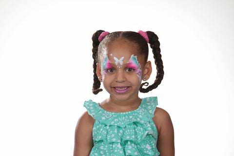 Princess Rainbow Party Silly Face Fun Kit