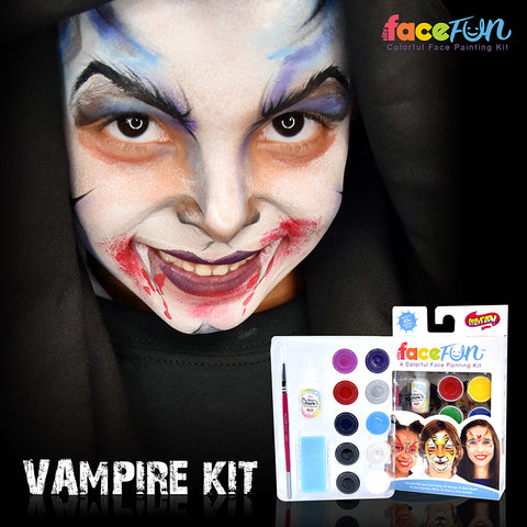 Vampire and Ice Queen Silly Face Fun Character Kit