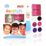 Breast Cancer Awareness Rainbow Party Silly Face Fun Kit