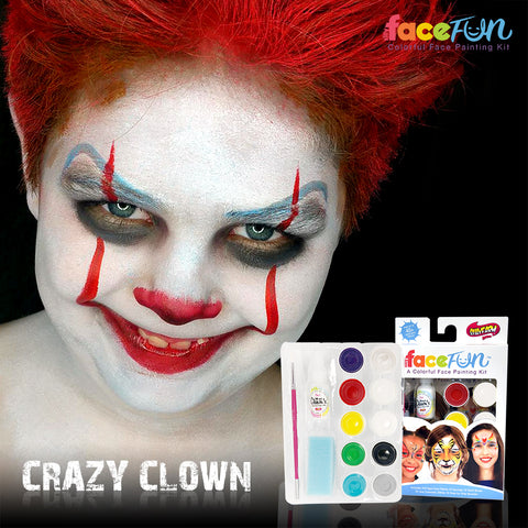 Crazy Clown Silly Face Fun Kit
