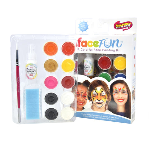 Tiger Kitty Silly Face Fun Character Kit