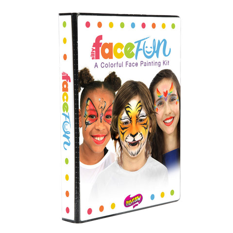 Deluxe Rainbow Party Silly Face Fun Kit