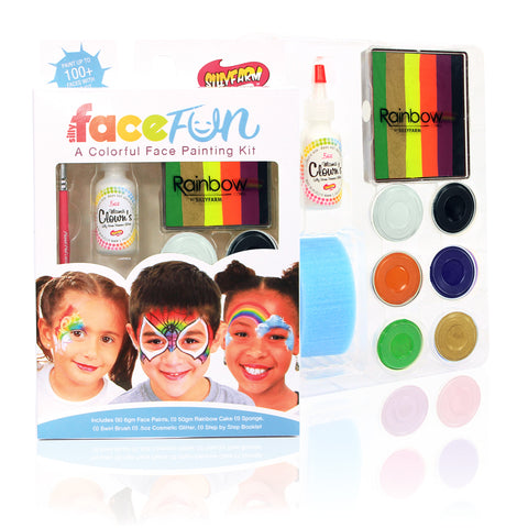 GlamOween Mashup Rainbow Party Silly Face Fun Kit