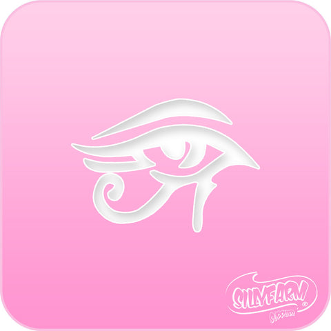 Eye of Ra Pink Power Stencil