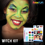 Witches and Zombie Silly Face Fun Character Kit