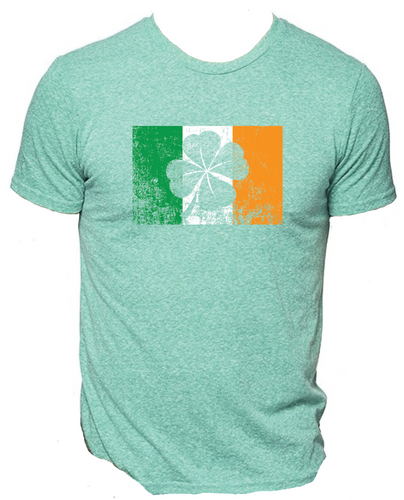 Ireland Flag Shamrock Shirt