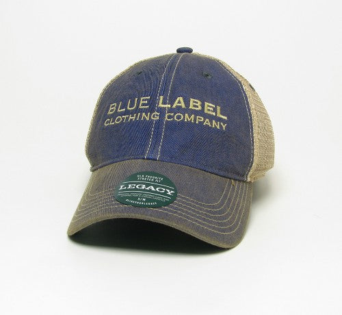 Blue Label Clothing Company Mesh Fitted Hat