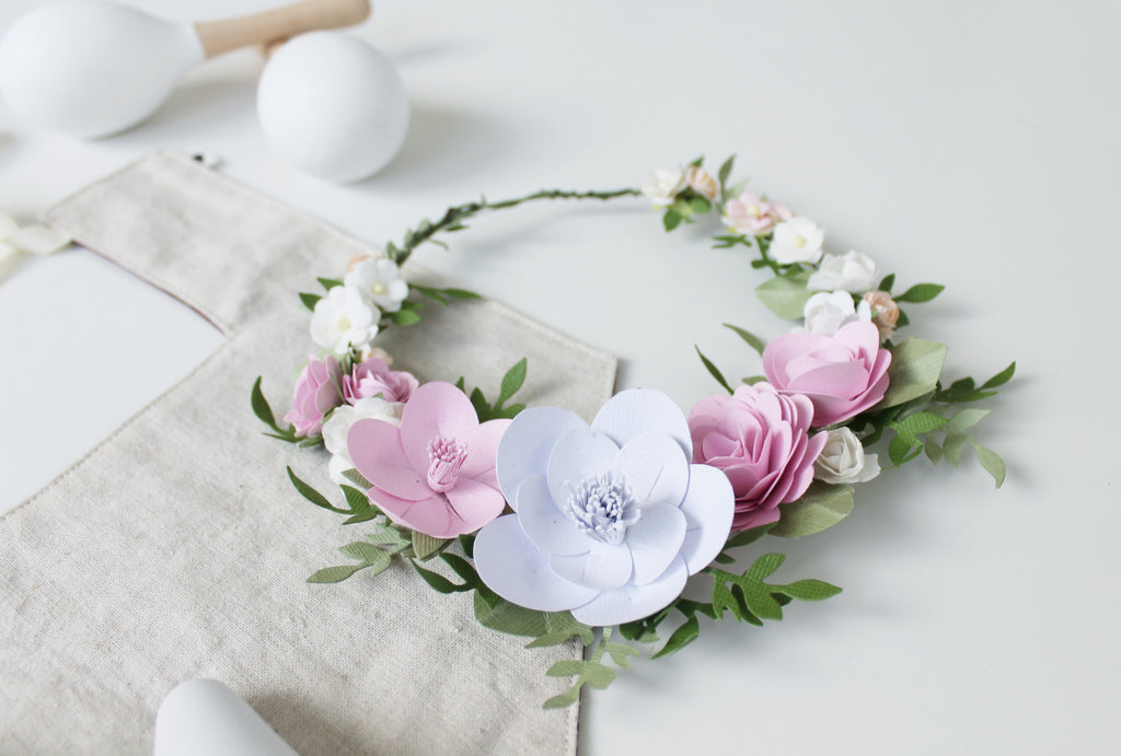 New Product: Paper Wreaths