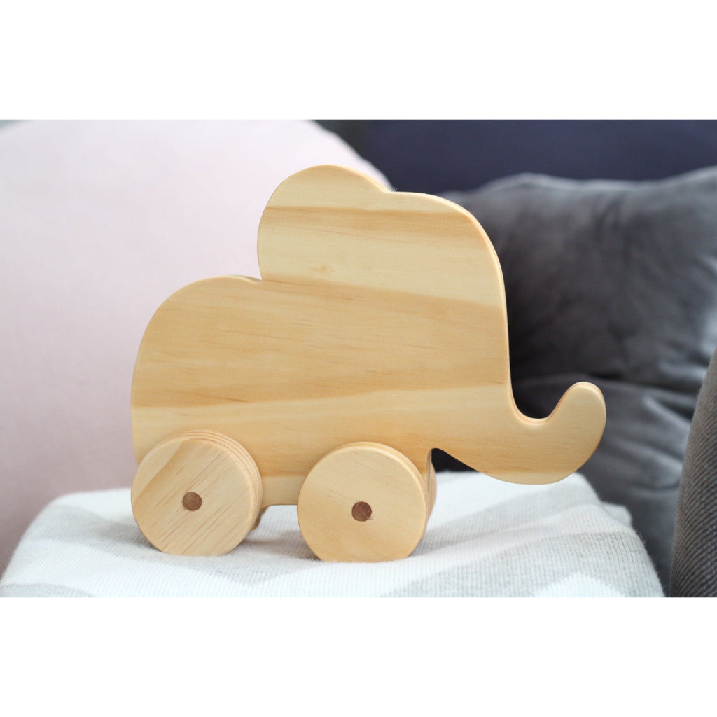 Ellie Elephant wheelie <br> Ready to ship