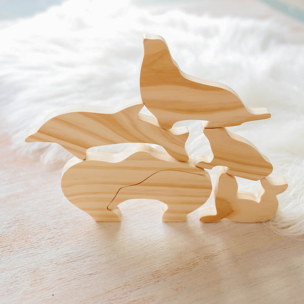 NZ Animal Figure Set <BR> ON SALE