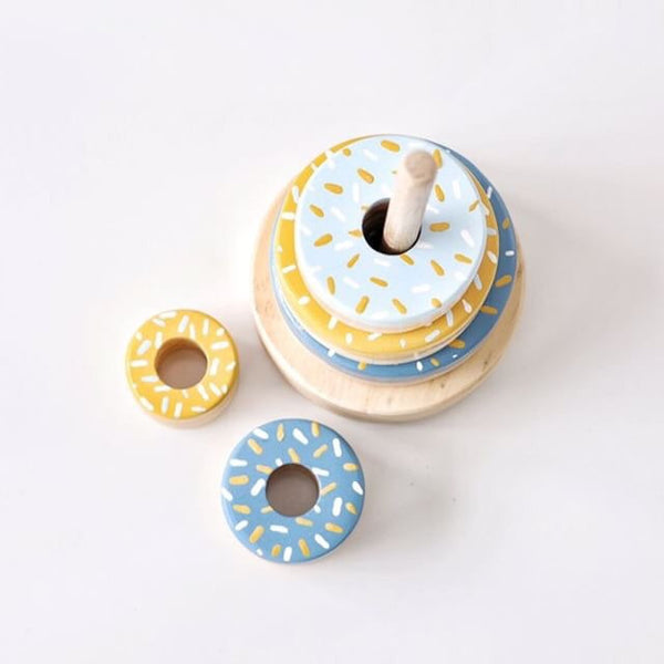 Blue's & Mustard Donut Stacker <br> Timberland Toy Co Collaboration <BR> PRE ORDER