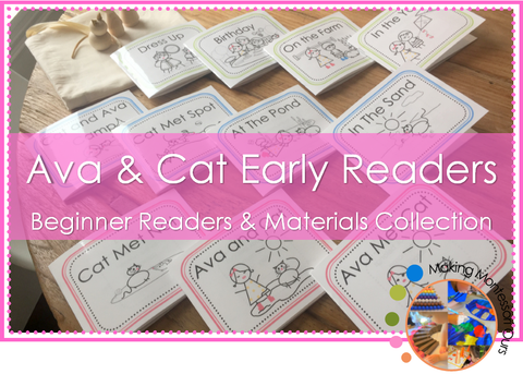 Ava & Cat Early Readers and Materials Collections