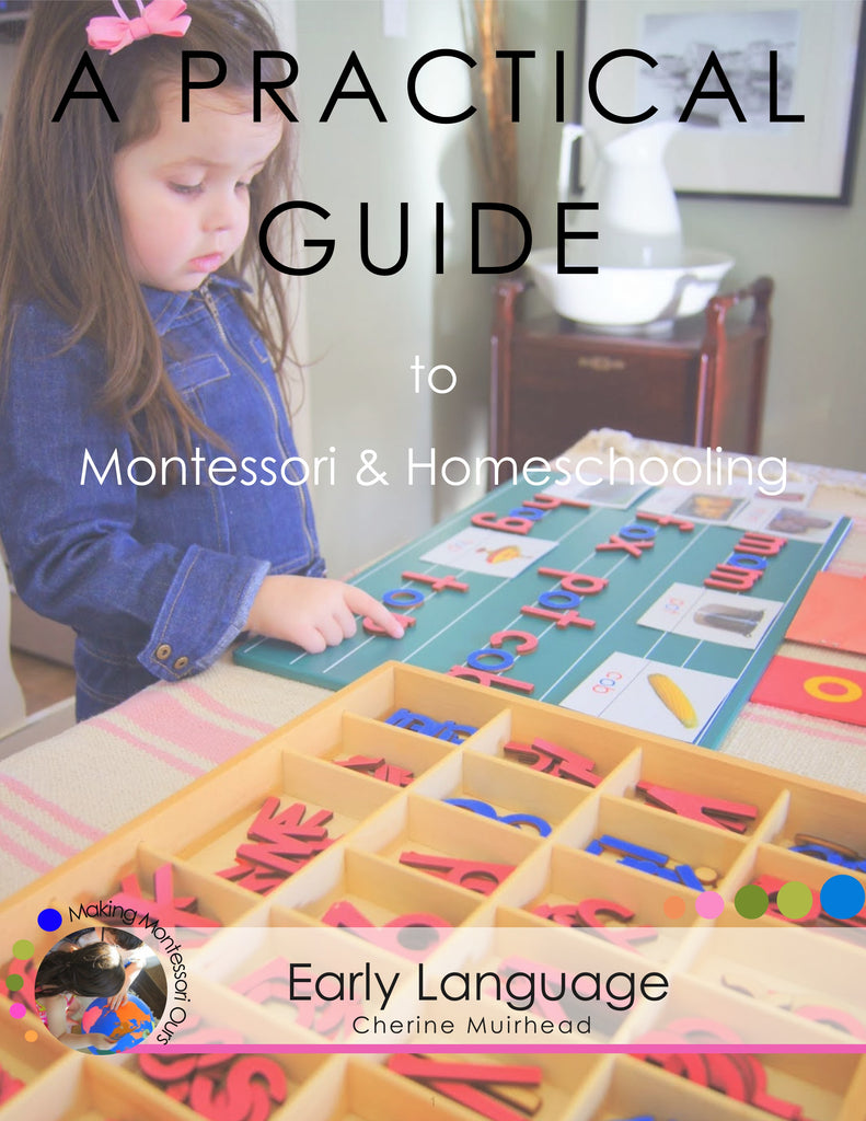 Early Language ~ A Practical Guide to Montessori & Homeschooling *PDF BOOK*