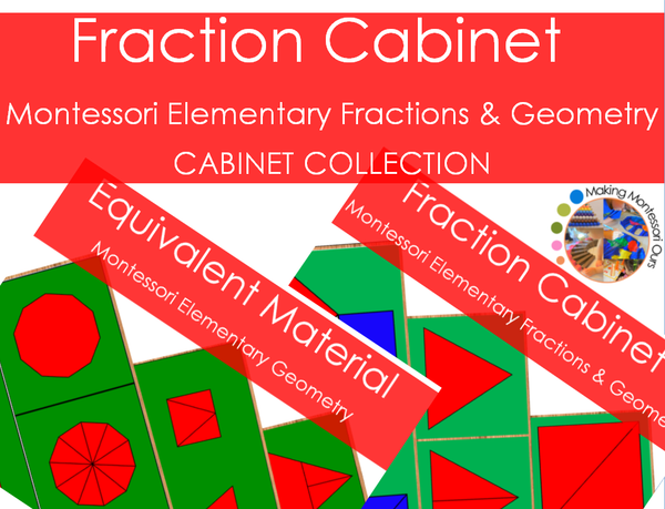 Montessori Geometry Collection