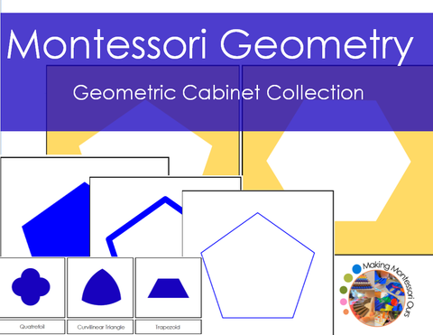 Montessori Geometric Cabinet Collection