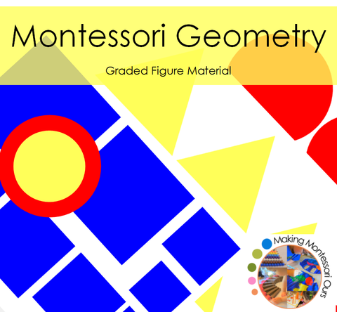 Montessori Graded Figure Material