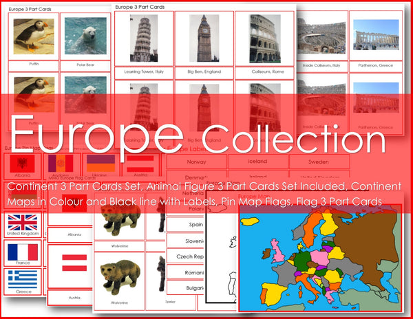 Montessori EUROPE Continent Collection PDF