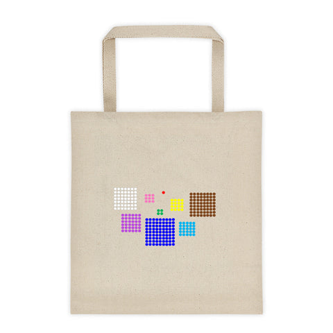 Bead Square Tote bag