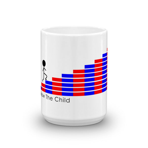 Follow The Child Numbered Rods Mug