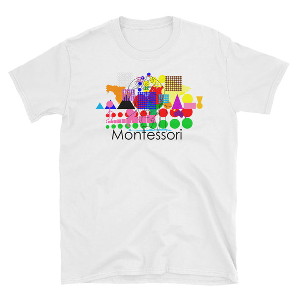 Montessori Graphic Art Short-Sleeve Men's T-Shirt