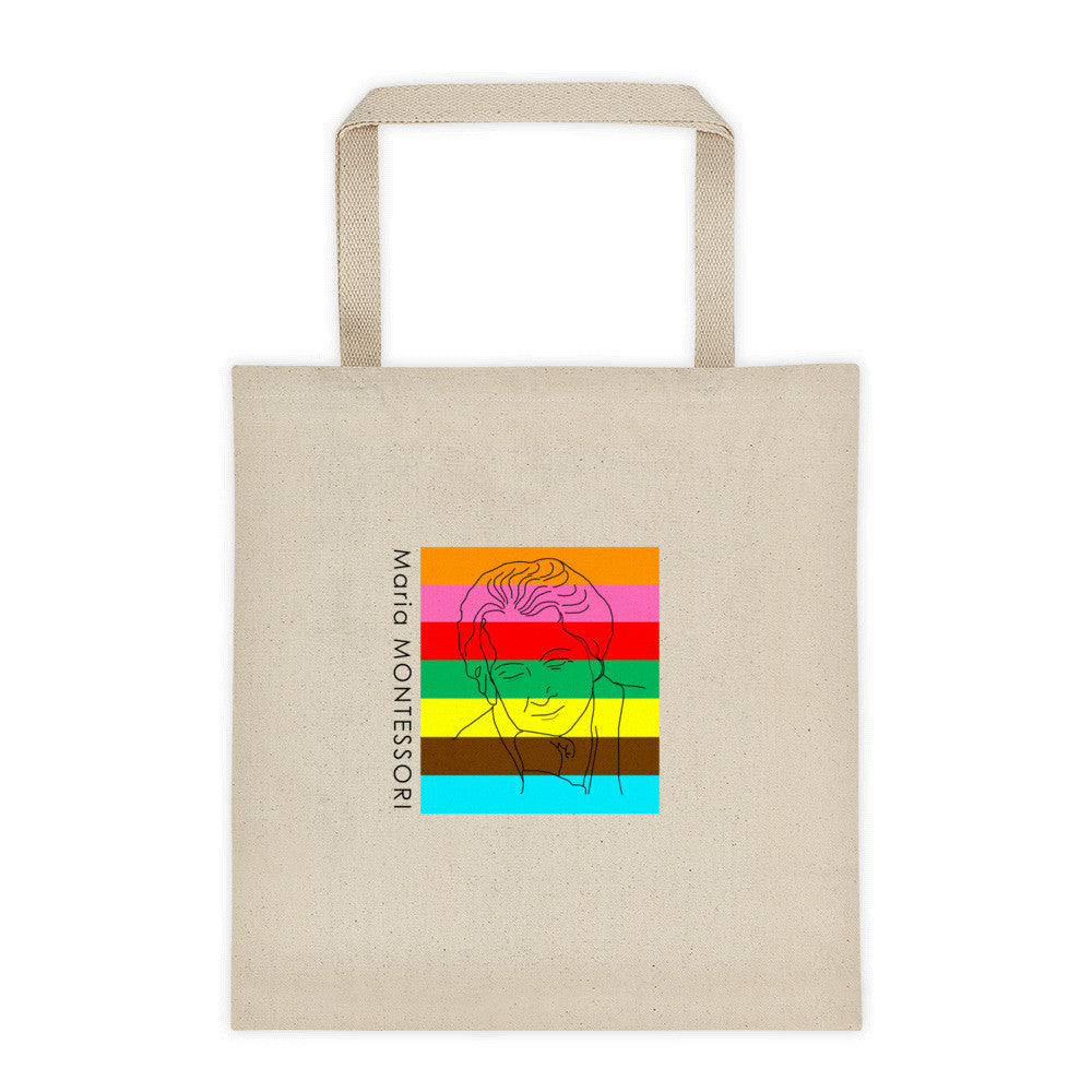Maria Montessori Global Unity Tote bag