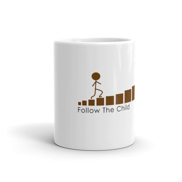 Follow The Child Brown Stair Mug