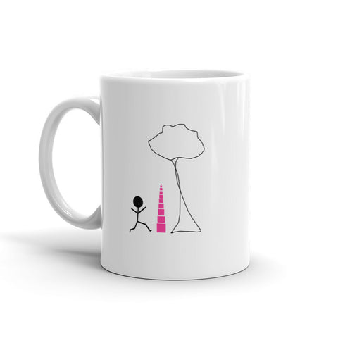 Pink Tower Tree Mug