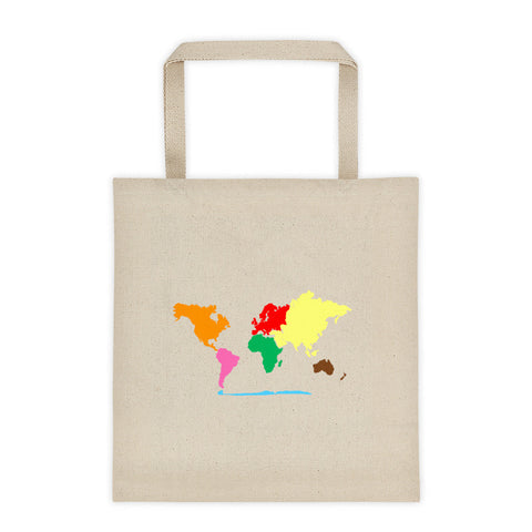 Continents Tote bag