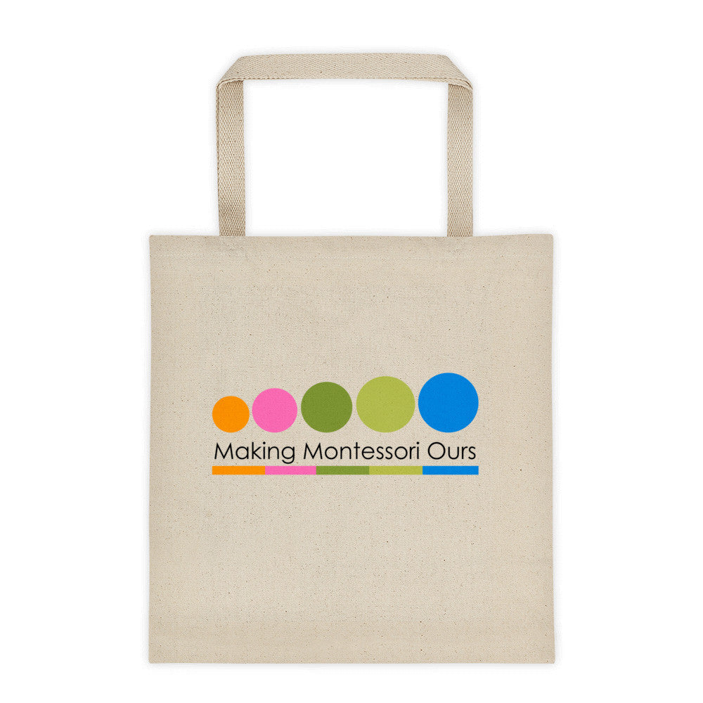 Making Montessori Ours Tote bag