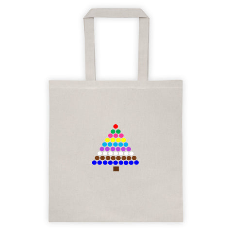 Bead Stair Tree Tote bag
