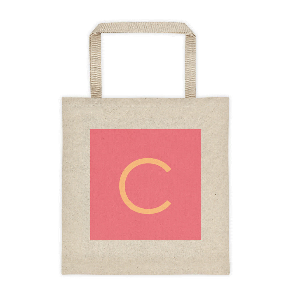 Montessori Personalized Sandpaper Letter Tote bag /Gift