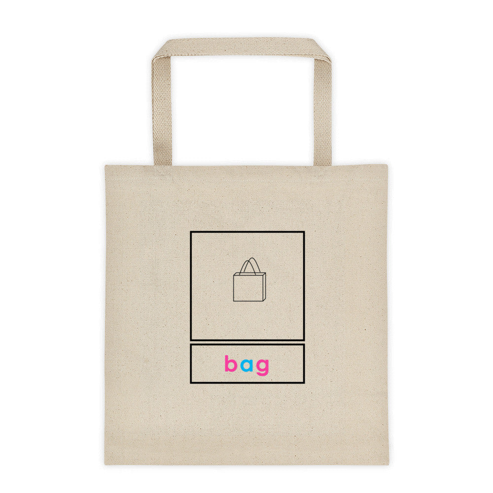 3 Part Card Tote bag