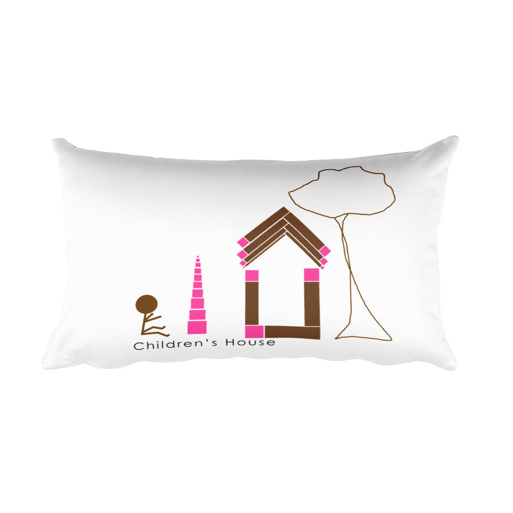 Children's House Rectangular Pillow