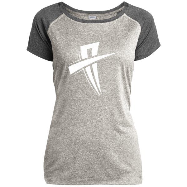 Soul Trotters Ladies Heather on Heather Performance T-Shirt - Soul Trotters