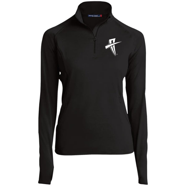 Soul Trotters Action Cross Women's 1/2 Zip Performance Pullover - Soul Trotters