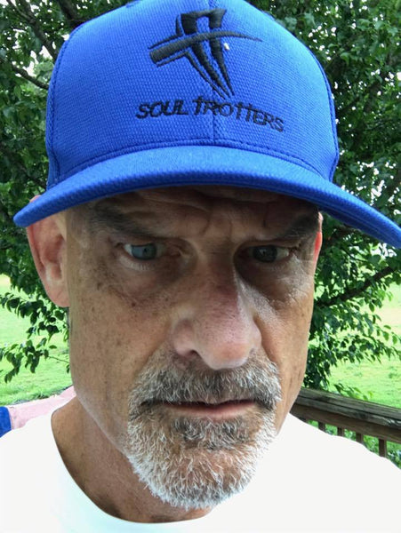 Soul Trotters - Soul Cool Fit - Embroidered Logo Poly Mesh Cap - True Royal - Soul Trotters