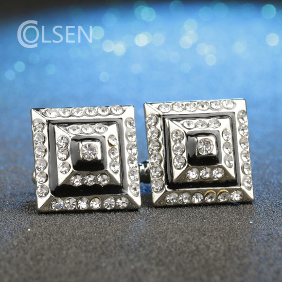 2017 Men's Rhinestones Cufflinks