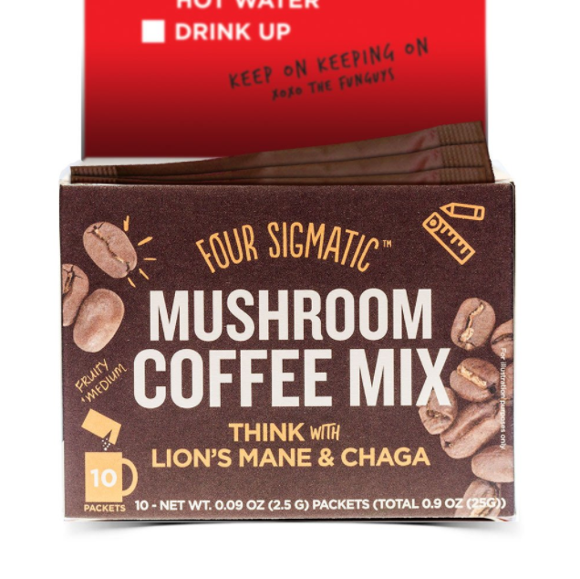 Four Sigmatic - Mushroom Coffee with Lion's Mane - Packets