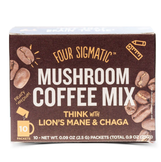Four Sigmatic - Mushroom Coffee with Lion's Mane - Packets - WellCalm