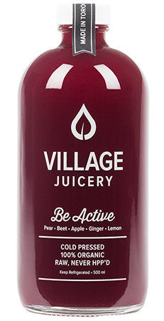 Village Juicery - Be Active - WellCalm