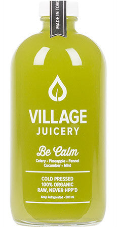 Village Juicery - Be Calm - WellCalm