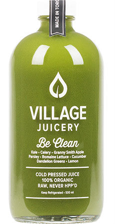 Village Juicery - Be Clean - WellCalm