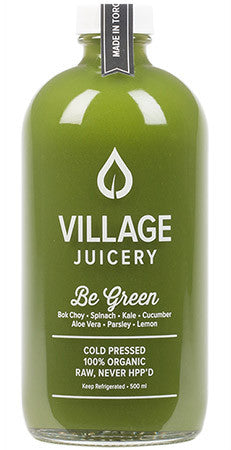 Village Juicery - Be Green - WellCalm
