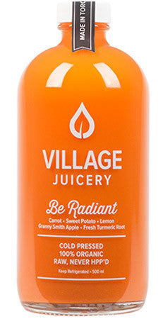 Village Juicery - Be Radiant - WellCalm