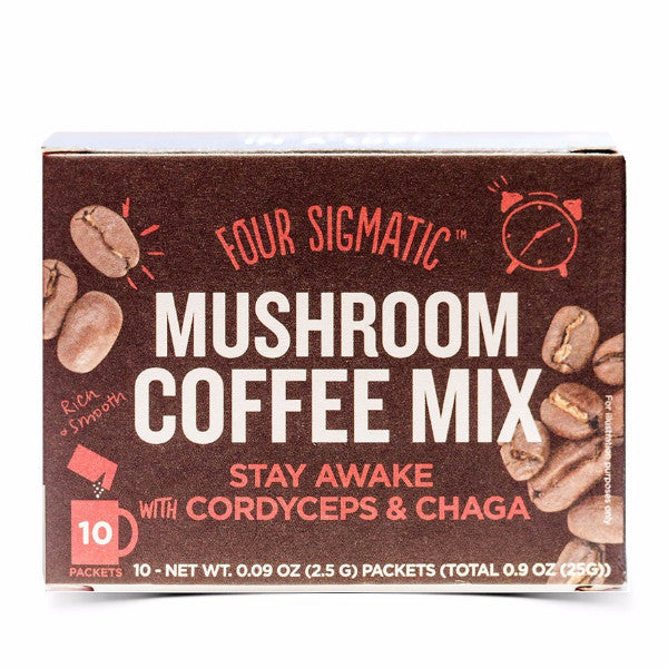 Four Sigmatic - Mushroom Coffee with Cordyceps Packets