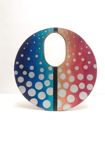 Yayoi circle bag - 002 original painting